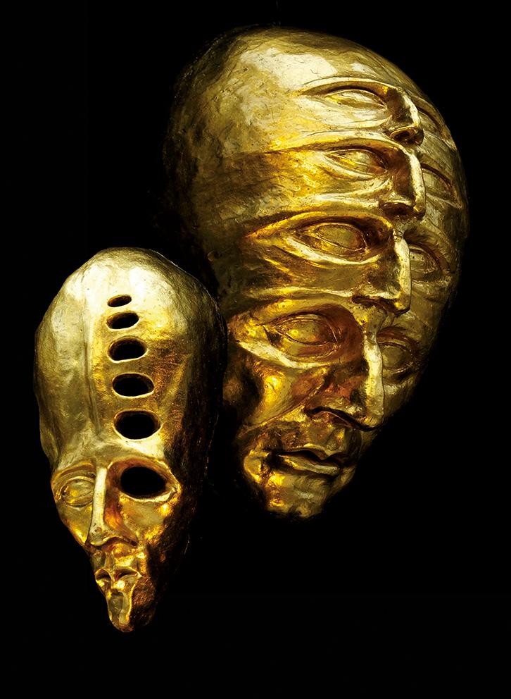 Gold Sculptures 3