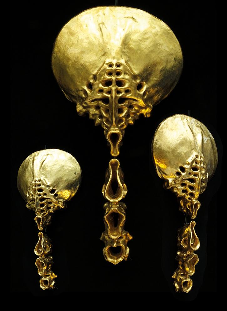 Gold Sculptures 7