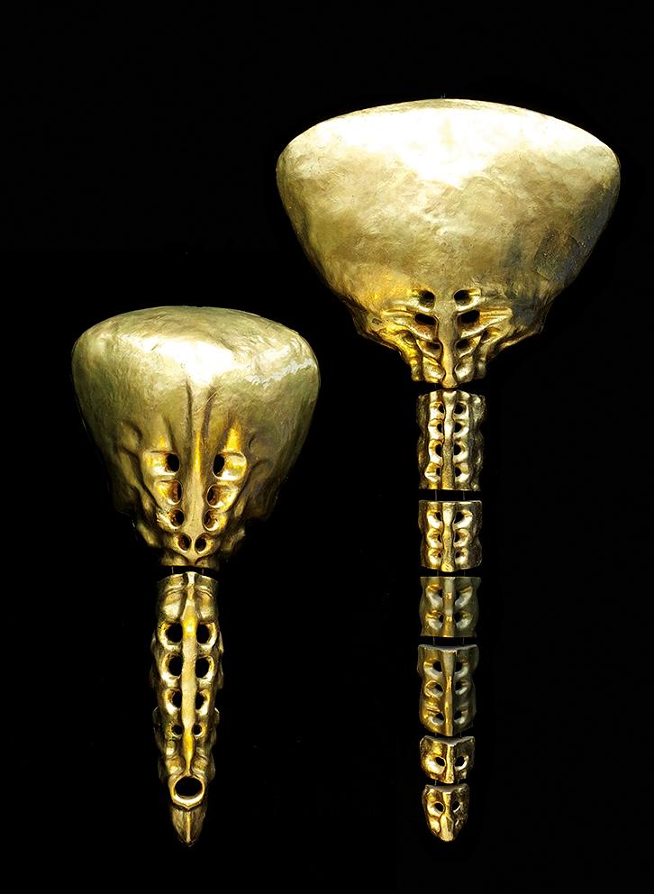 Gold Sculptures 5