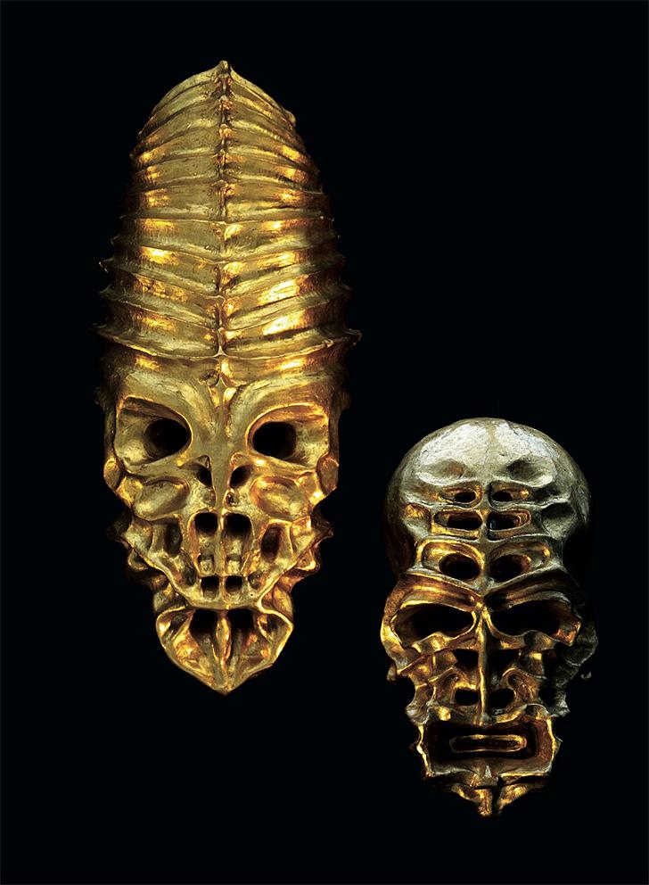 Gold Sculptures 11