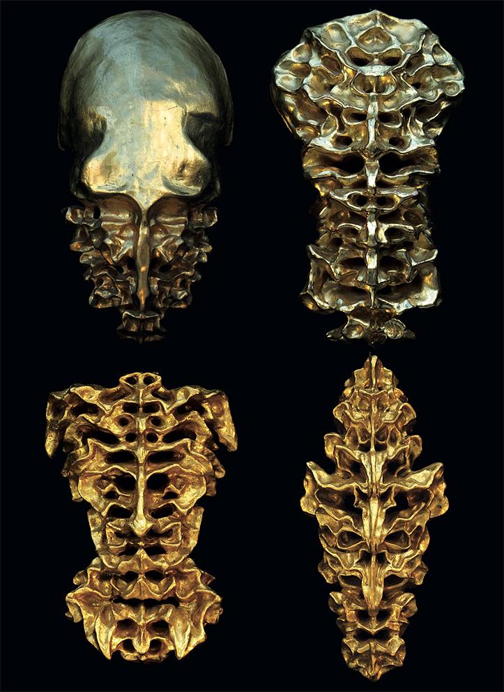 Gold Sculptures 10