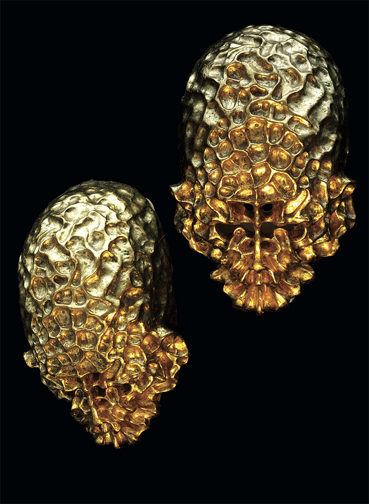 Gold Sculptures 13