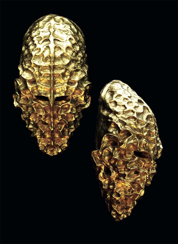 Gold Sculptures 12