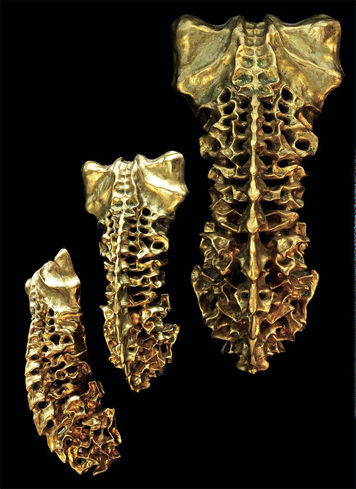 Gold Sculptures 8