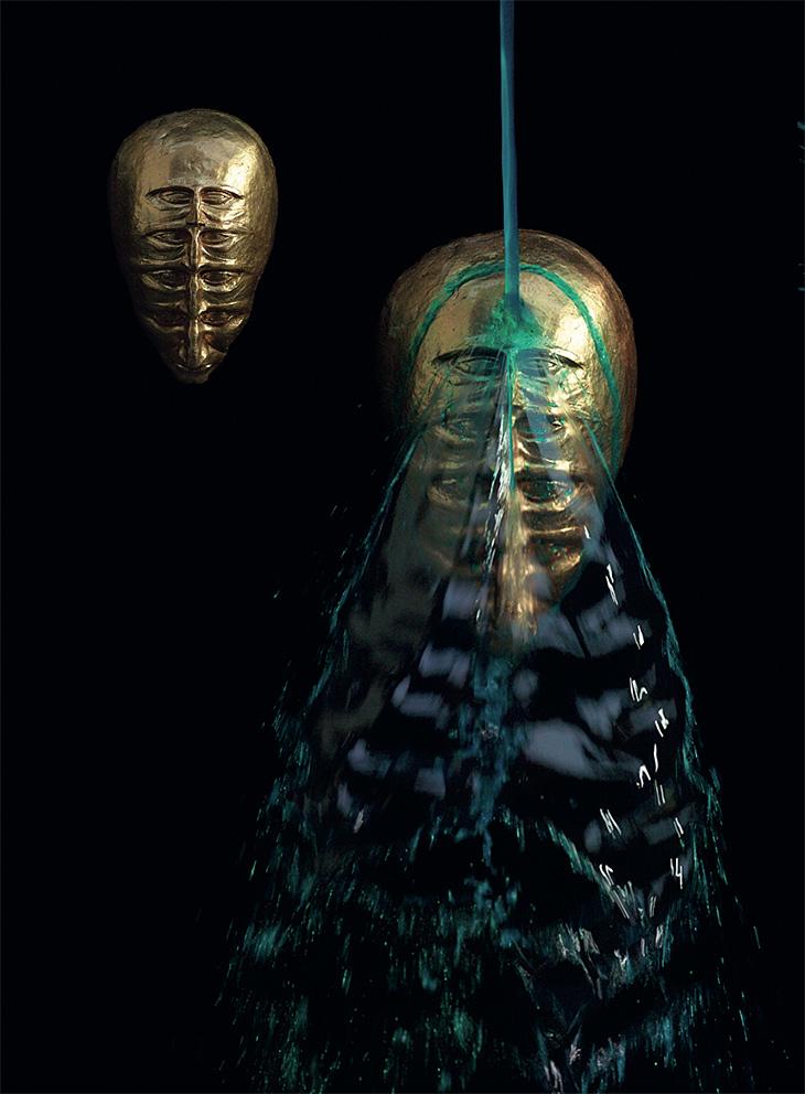 Splashed Sculptures 13