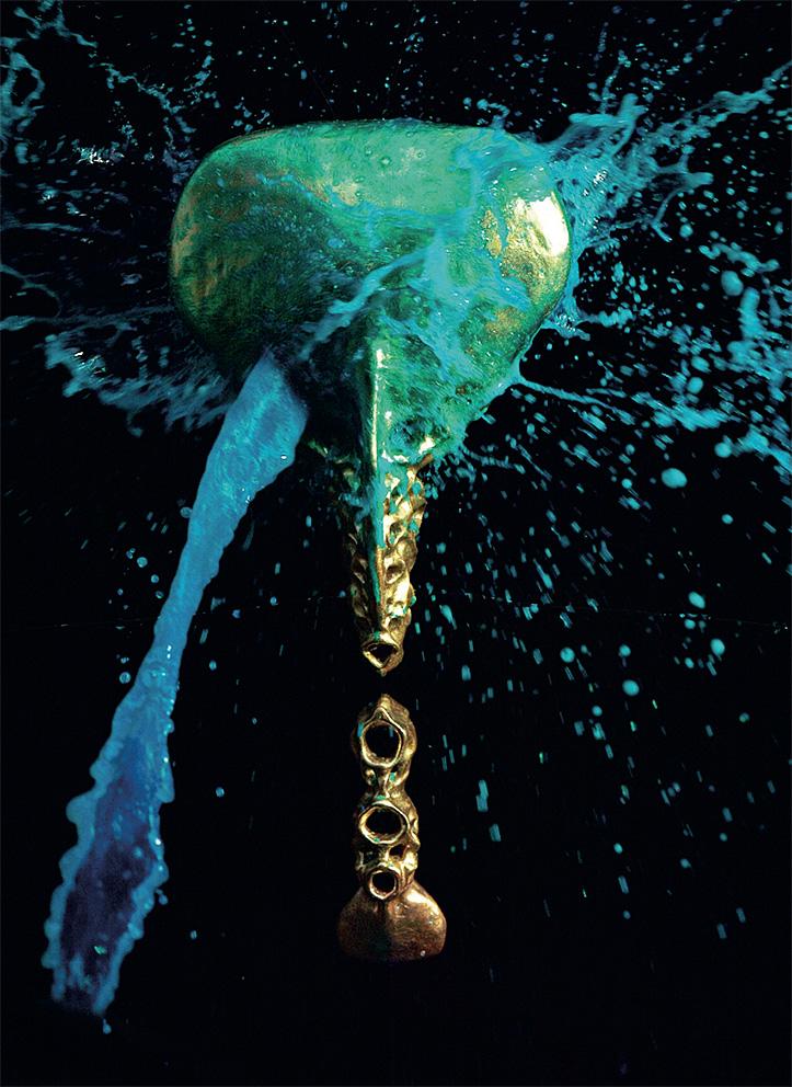 Splashed Sculptures 6