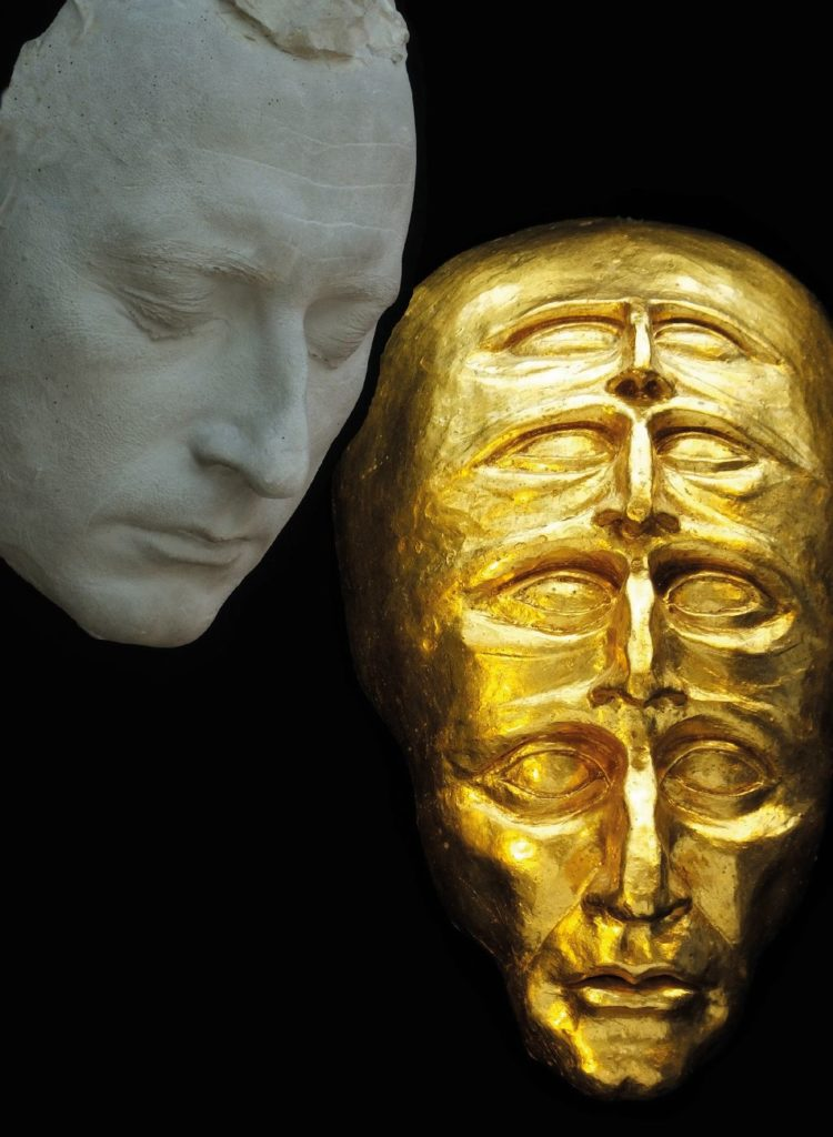 Gold Sculptures 1
