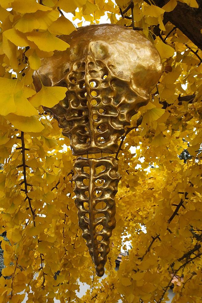 Gold Sculptures 16