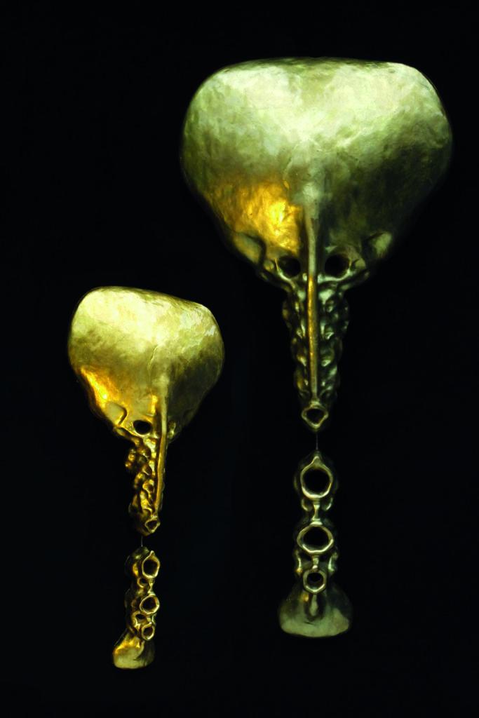 Gold Sculptures 6